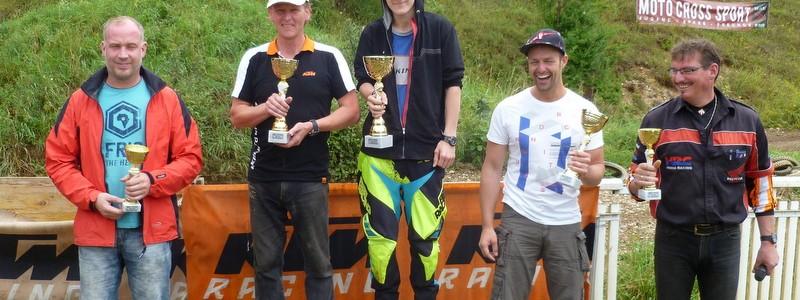 Siegerehrung beim MX Kids Clubrennen 2014