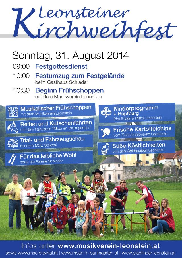 Leonsteiner Kirchweihfest 2014