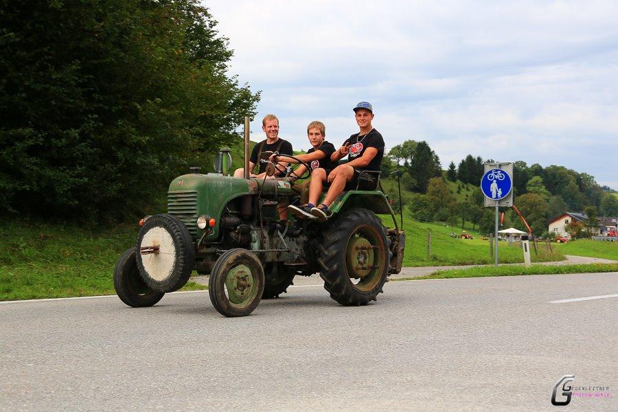Steyr Traktor Typ 80 beim Made in Austria Fahrzeugtreffen
