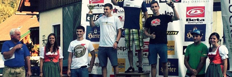 Andreas Koller (MSC Steyrtal) erreichte beim ÖEC in Lunz am See Platz 3 in der Junioren-Klasse
