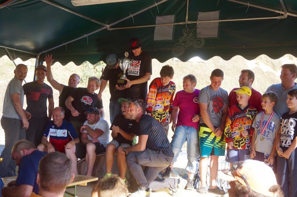 Siegerehrung MX-Kids Clubrennen 2015