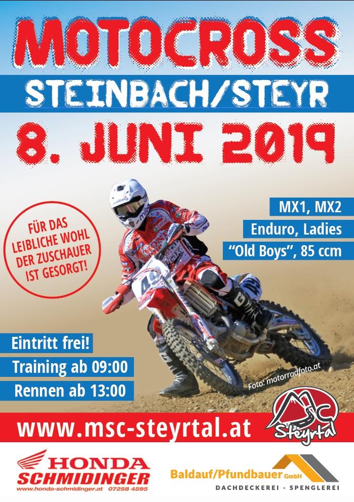 Motocross in Steinbach/Steyr 2019